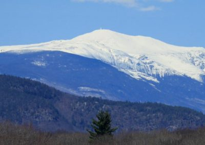 Snow-capped Mt. Washington